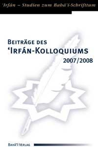Beiträge des 'Irfán-Kolloquiums 2007/08